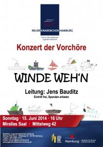 2014-06-16 VC Konzert Plakat